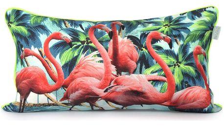 Povlak na polštář HF Living Flamingos 50x30cm