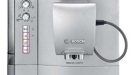 Espresso Bosch TES51521RW stříbrné + Doprava zdarma