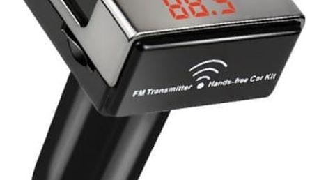 FM transmitter s handsfree a nabíječkou - dodání do 2 dnů