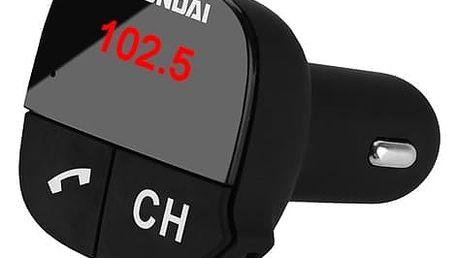 Transmitter Hyundai FMT 419 BT CHARGE černý