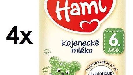 Kojenecké mléko Hami od ukončeného 6m měsíce, 800g x 4ks + DÁREK + Doprava zdarma