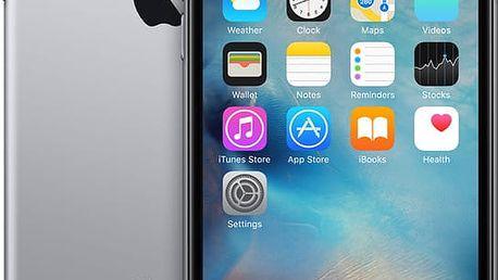 Apple iPhone 6s 128GB, šedá - MKQT2CN/A + Zdarma GSM pouzdro CELLY Frost pro Apple iPhone 6/6S, 0,29 mm, černá (v ceně 249,-)