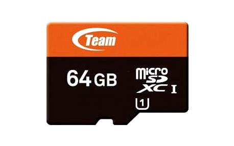 TEAM 64GB Micro SDXC Xtreem/ UHS-1/ + SD adaptér