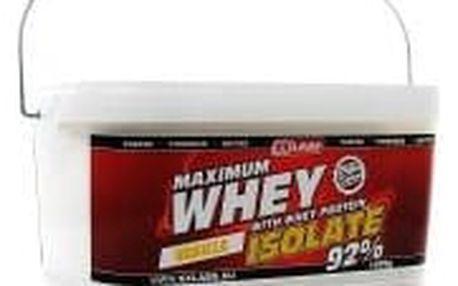 Maximum Whey Protein Isolate 1000g vanilka - při nákupu 2 kusů Dárek BCAA 211 Malate 90 kapslí ZDARMA