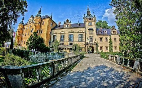 Dovolená v Polsku na zámku pro dva