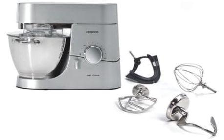 Kuchyňský robot Kenwood Chef Titanium KMC050 stříbrný