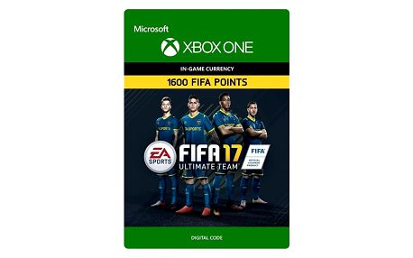 FIFA 17 - 1600 FUT Points (Xbox ONE) - elektronicky - 7F6-00062