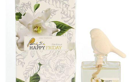 Difuzér s vůní gardénií HF Living Fragrance, 100 ml