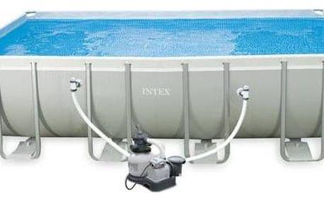 Bazén Intex Frame Set Ultra Quadra I 5,49x2,74x1,32 m včetně kartušové filtrace, 128352np + Doprava zdarma
