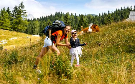 Rodinný pobyt: polopenze, wellness i minizoo