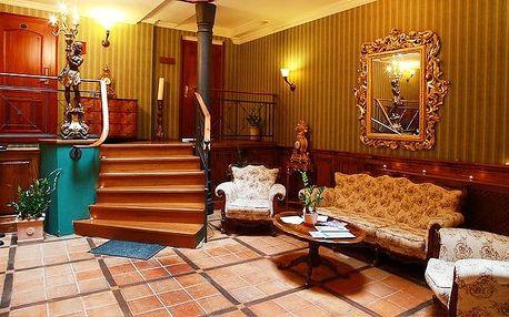 5denní wellness pobyt s polopenzí pro 2 + 1 dítě v hotelu Morris v České Lípě