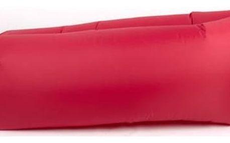Nafukovací vak G21 Lazy Bag červený + Doprava zdarma