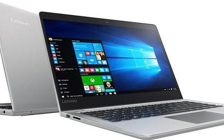 Lenovo IdeaPad 710S Plus-13IKB, stříbrná - 80W30013CK