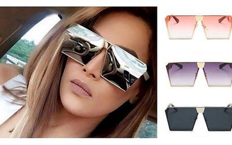 Hranaté sluneční brýle Futuristic