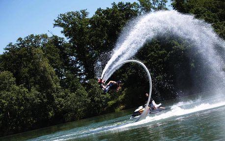 Flyboarding na Vysočině