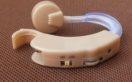 Naslouchátko s nastavitelnými režimy hlasitosti