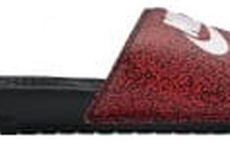 Pánské nazouváky Nike BENASSI JDI PRINT 42,5 ACTION RED/WHITE-BLACK