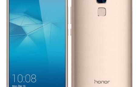 Mobilní telefon Honor 7 Lite Dual SIM (51090MRS) zlatý