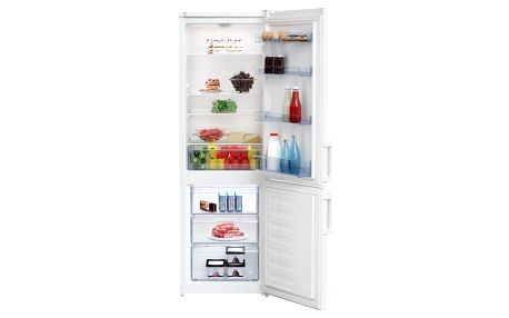 Kombinace chladničky s mrazničkou Beko CSA 270 M21W bílá + DOPRAVA ZDARMA