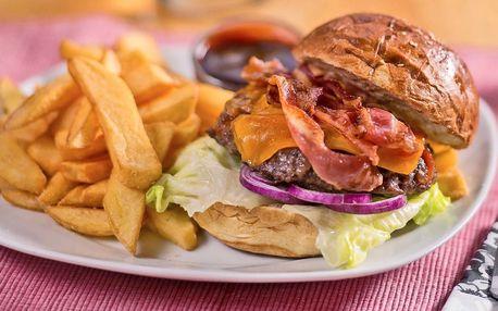 Burger menu od amerického šéfkuchaře pro dva