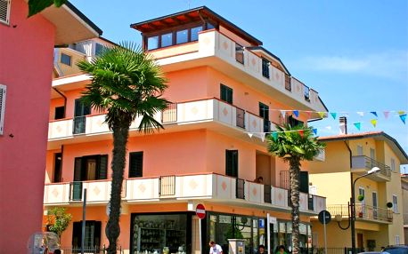 8–10denní Italie (Abruzzo) | Apartmánový dům Vittoria*** | 100m od pláže | Autobusem nebo vlastní doprava