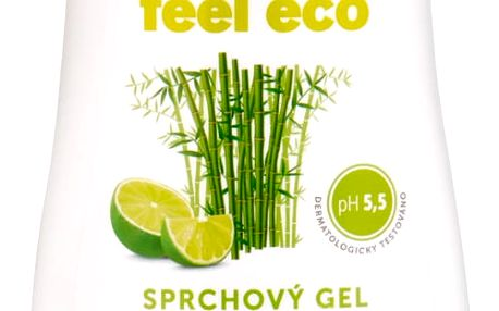 Feel Eco sprchový gel Limetka & Bambus