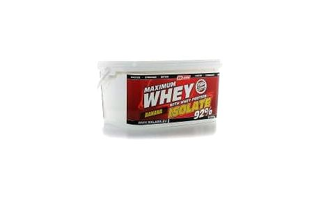 Xxtreme Maximum Whey Protein Isolate 92 2200 g banán
