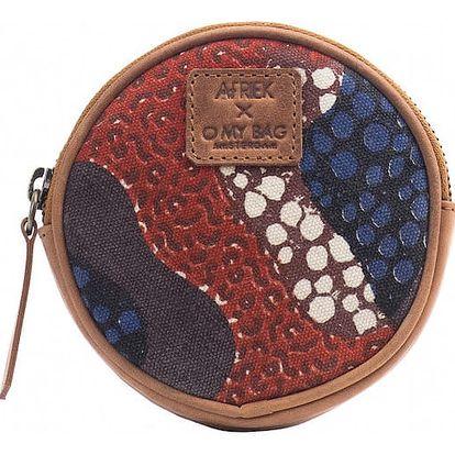 Červená peněženka na drobné O My Bag Circular