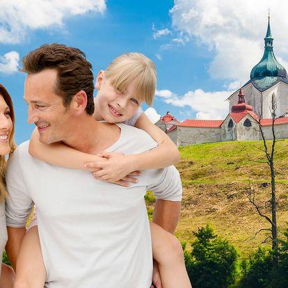 Rodinná dovolená s polopenzí ve Žďáře n. Sázavou