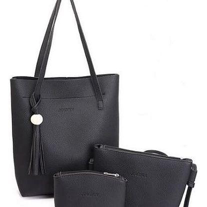 Sada kabelky, crossbody kabelky a kosmetické taštičky - 4 barvy