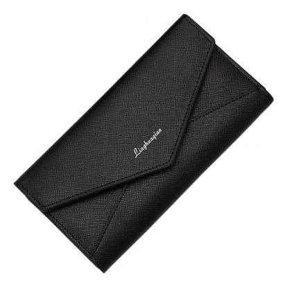 Dámská jednoduchá peněženka v designu obálky - 6 barev