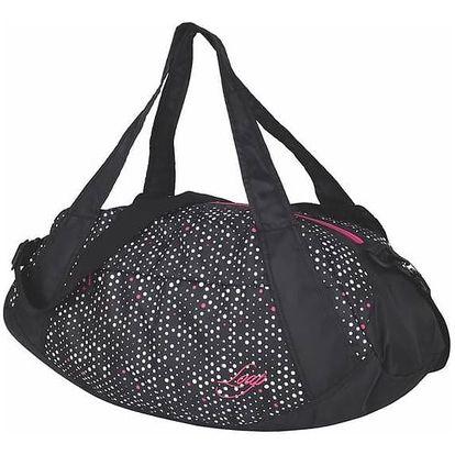 Kabelka sportovní Loap Sandrine 30l - černá/růžová barva