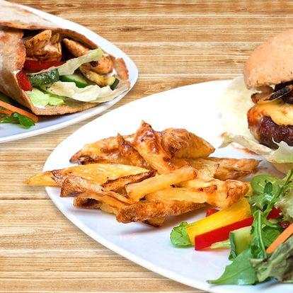 Bezlepkový burger nebo tortilla
