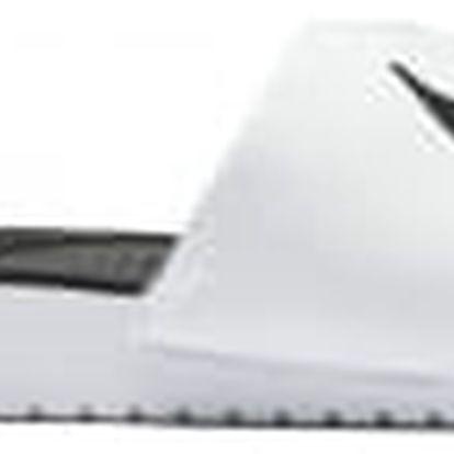 Dětská otevřená obuv Nike KAWA SLIDE (GS/PS) 37,5 WHITE/BLACK