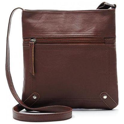 Dámská taška přes rameno se zipem