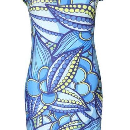 Veselé letní mini šaty s různými motivy - varianta 8, velikost 2