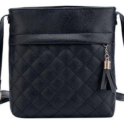 Dámská kabelka s kostkovaným vzorem - 4 barvy
