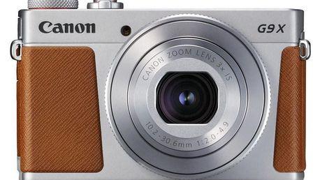 Digitální fotoaparát Canon Canon PowerShot G9X, stříbrná 1718C002AA