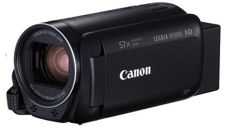 Digitální kamera Canon Legria HF R806, Essential Kit, černá 1960C015AA