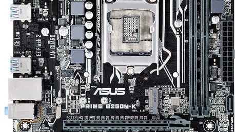 ASUS PRIME B250M-K - Intel B250 - 90MB0T10-M0EAY0