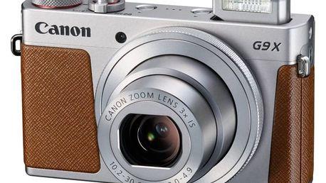 Digitální fotoaparát Canon PowerShot G9 X stříbrný 0924C002