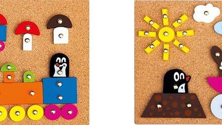 BINO Hra s kladívkem – Krtek (2 druhy)