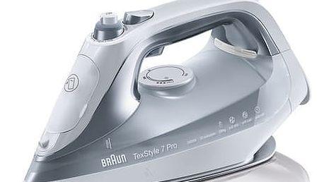Žehlička Braun TexStyle 7 Pro SI7088GY šedá