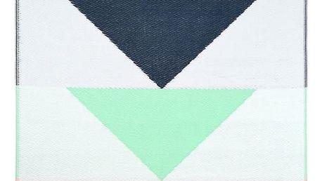 Koberec vhodný do exteriéru HF Living Triangle, 120x180 cm