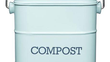 Modrý domácí kompostér Kitchen Craft Living Nostalgia