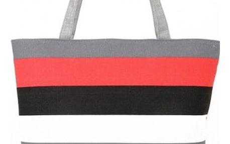 Dámská plážová taška s proužky - 4 varianty