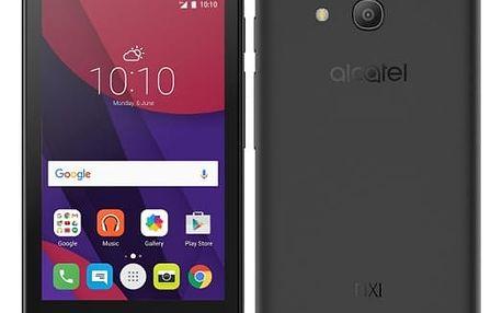 Mobilní telefon ALCATEL PIXI 4 (4) 4034D (4034D-2AALE11) černý