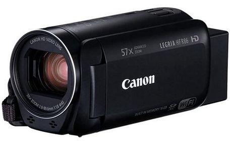 Digitální kamera Canon Legria HF R86, Premium Kit, černá 1959C020AA