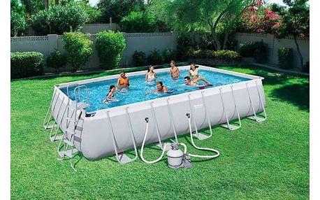 Bazén Bestway Steel Frame Pool 671 x 366 x 132 cm + Doprava zdarma