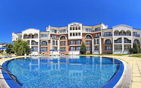 Hotel Sunrise Club, Burgas, Bulharsko, letecky, snídaně v ceně